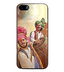 ifasho Designer Back Case Cover for Apple iPhone SE (Design Girly)