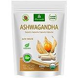 Ashwagandha Kapseln 600mg oder Tabletten 1000mg – reines Naturprodukt in Spitzenqualität – Schlafbeere, Winterkirsche, Indischer Ginseng (120 Kapseln)