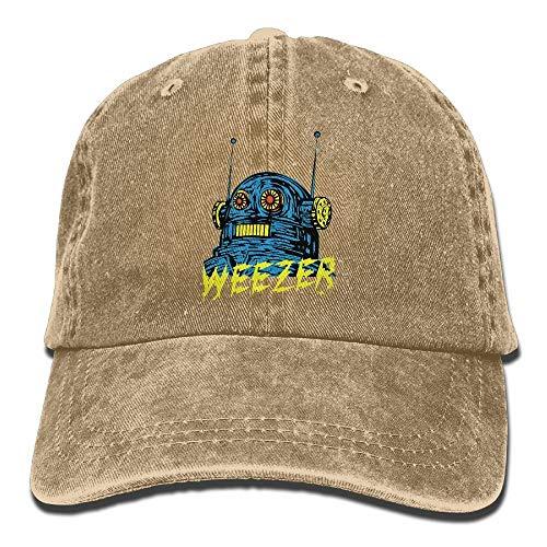 d7cc1c2bc SKDJFBUD CynthiaH Weezer Unisex Cotton Baseball Cap Washed Dyed Ball Dad Cap