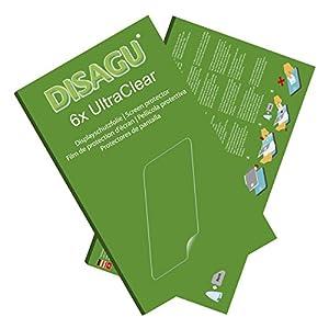 Disagu Nintendo 2DS Displayschutzfolie – 6x Ultra Clear Schutzfolie für Nintendo 2DS