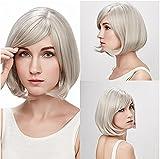 YUSHI Damen Mode Hochtemperatur Draht einsetzbar für gefälschte Haare färben