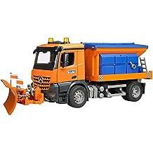 Modellfahrzeug bruder MB-Unimog Winterdienst mit Räumschild Spielzeugautos