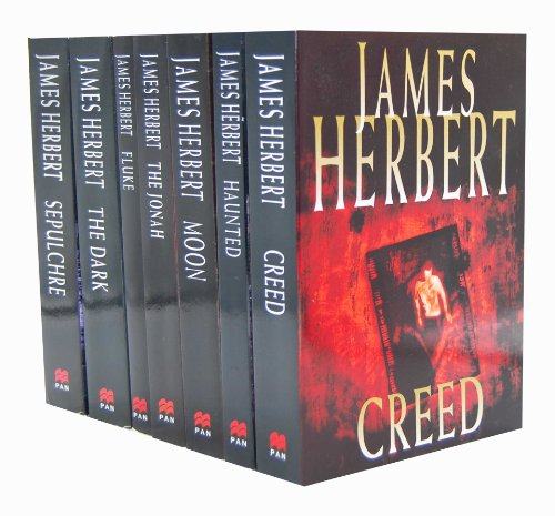 James Herbert 7 Books Collection Set Pack RRP 49.93 (Creed, Haunted, Moon, T...