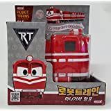[Robot Train] Korean TV Animation Transformer Mini Robot Characters Toy For Kids Child 'ALF'+Cute Sticker Gift