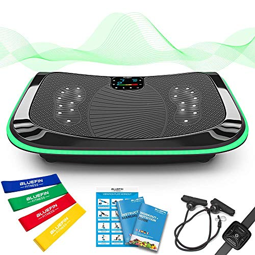 51ECopHMmsL. SS500  - 4D Triple Motor Vibration Plate   Powerful   Magnetic Therapy Massage   Curved Surface   4.0 Bluetooth Speakers…