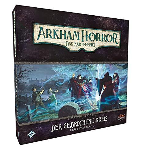 Asmodee Arkham Horror: LCG - Der gebrochene Kreis Kartenspiel, Erweiterung (Kreis-erweiterungen)