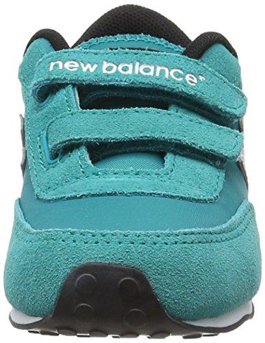 New Balance Baby-Mädchen, Funktionsschuh, Ke410 Kids Lifestyle Velcro blau (Teal/Grey)