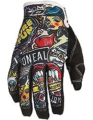 O'Neal Jump Crank Guantes de Bicicleta, Negro (Black / Multi), M