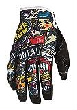 O'neal Jump Crank MX DH FR Handschuhe, Schwarz, S