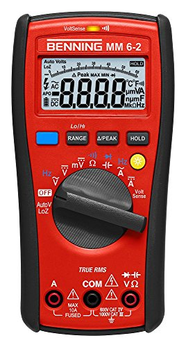 Benning mm 6-2 TRMS-Digital-Multimeter, 1 Stück, 044087