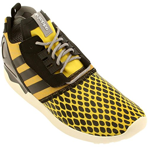 Adidas Zx 8000 Boost (Multi / Nebel Slate / Schwarz / Tomate) -6,0 Yellow / Black-Grey