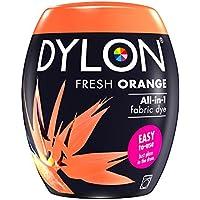 NUEVO Dylon 350g maschinenfarbstoff aushülsen - Grueso OFERTA UN Nuevos Colores Disponibles - Frescas NARANJA