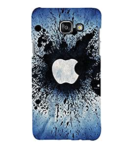 Smash apple Back Case Cover for Samsung Galaxy A7(2016)