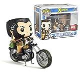 Funko POP! Marvel X-Men - Wolverine & Bike Exclusive Pop! Vinyl Figure Ride