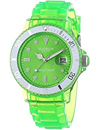 Madison New York analog Jelly Mix Green dial Unisex watch - U4631-10/1