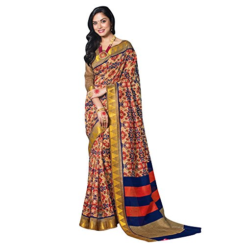 Viva N Diva Sarees For Women's New Collection Party wear Beige &...