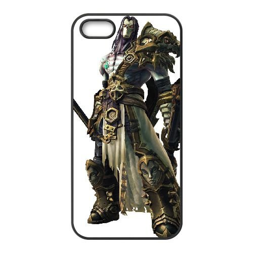 Darksiders coque iPhone 4 4S Housse téléphone Noir de couverture de cas coque EBDXJKNBO14941