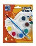 Lefranc Bourgeois - Tavolozza 7 Colori Tempera Classici