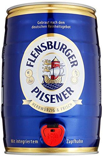 flensburger bier Flensburger Pilsener Partyfass Pils (1 x 5 l)