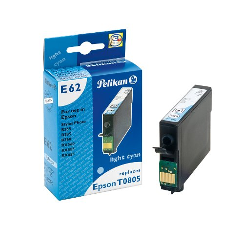 Preisvergleich Produktbild Pelikan Druckerpatrone E62 ersetzt Epson T08054011, Cyan