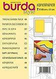 Burda style Kopierpapier weiss / gelb