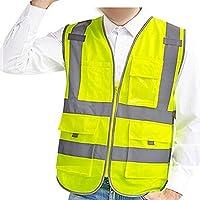 Giubbotto di Sicurezza da Lavoro con Alta Visibilità Giallo L
