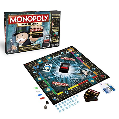 Hasbro Monopoly Game: Ultimate Banking Edition Niños
