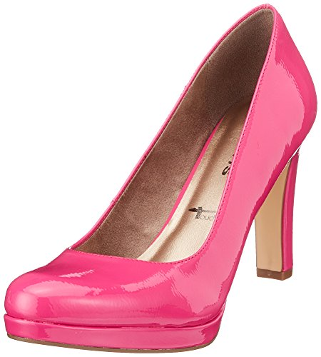 Tamaris Damen 22426 Pumps, Pink (Fuxia Patent 697), 42 EU