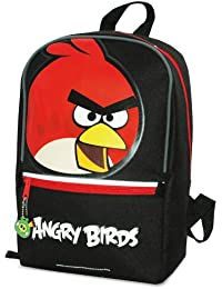 Angry Birds 7599221-wop - Mochila con diseño de pájaro, color negro
