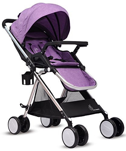 R for Rabbit Giggle Wiggle - The Feather Lite Stroller (Purple)