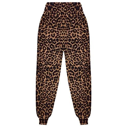 A2Z 4 Kids® Kinder Mädchen Ali Baba Stil Einfach - Ali Baba Trouser Leopard 5-6 (6 Leopard)