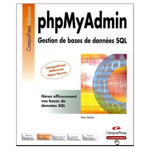 phpMyAdmin: Gestion de bases de données SQL