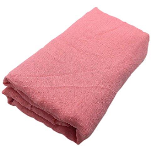 Fotografie Requisiten, URSING Baby Fotoprops Neugeborenes Unisex Mädchen Junge Wraps Decke Posieren Sleeping Swaddle Cover Blanket Pucksack Fotografie Prop Babydecke (Rosa) (Rock Stricken Rayon)