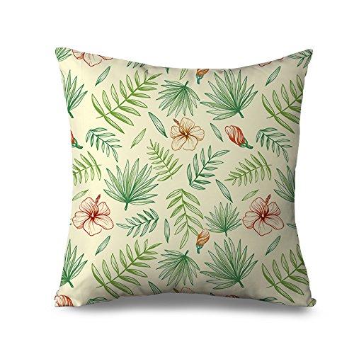 Gelb Shabby Chic Kissen Sham für Sofa Kissenbezug, 45x 45cm Sofa Kissen abdeckt, günstige Leinwand Dekorative Kissen für Couch -