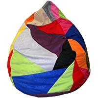 Heunec–670891–Puf Patchwork 120L, multicolor , color/modelo surtido
