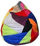 Heunec-670891-Pouf Patchwork 120l Multicolore