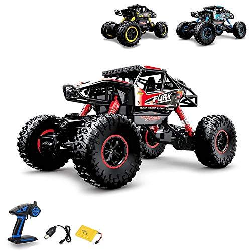 Aandyou Ferngesteuertes Auto,1:16 RC Auto,2.4GHz Ferngesteuertes Monstertruck,High Speed RC-Auto mit 2 wiederaufladbaren Batterien*