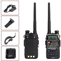 Baofeng UV-5R Plus Amateurfunk Walkie-Talkie 2M/70cm Hand-funkgerät Radio CTCSS