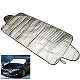 FUNNYTODAY365192x 70cm auto parabrezza di calore parasole anti neve gelo Ice Shield Dust Protector