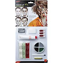 Zombie Latex Kit, Face Paint, Fake blood, Gel Blood, Liquid Latex, Horror Flesh and Applicators (maquillaje/ pintura de cara)