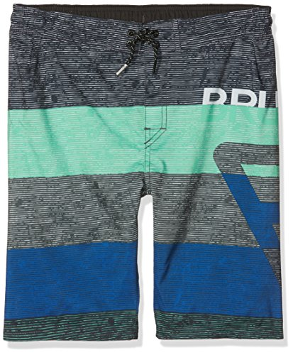 Brunotti Jungen Kelvin JR Boys Shorts Badeshort, Breeze Green, 140 (Jungs Boardshorts)