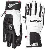 Zanier Jungen Handschuhe Speed-Pro, Weiß, S, 24014