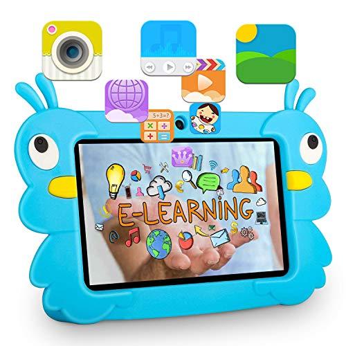 tablet 7 pollici 2gb ram Tablet 7 Pollici HD G5 4000mAh 2 GB RAM 32 GB ROM-Espandere a 64 GB Android 6.0 Quad Core 7 Pcs Tablet per Bambini Doppia Fotocamera WIFI GPS Bluetooth Macchina per l apprendimento MP3/4 (G5-Blu)