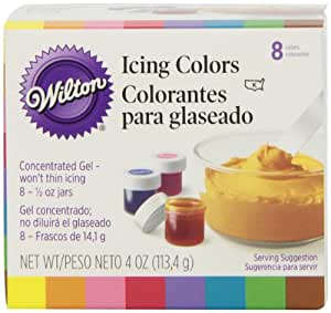 Wilton Icing Colors 1/2 Ounce 8/Pkg Assorted Colors W5577