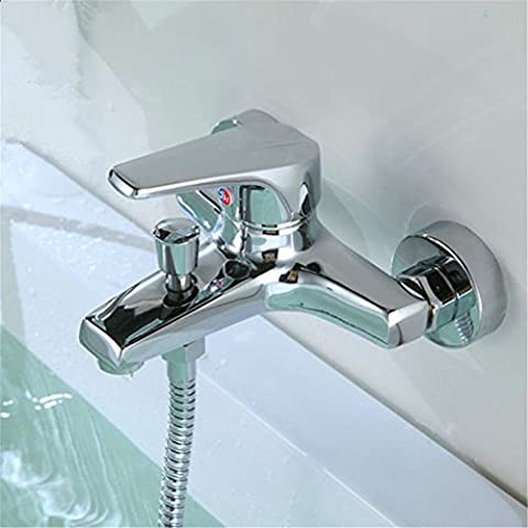 Qwer Full Bathroom Faucets Bathroom Bathtub Copper 3 Can Access To The Shower Hand Painted Shower Faucet Kit Bathroom