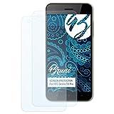 Bruni Schutzfolie für HTC Desire 10 Pro Folie - 2 x glasklare Displayschutzfolie