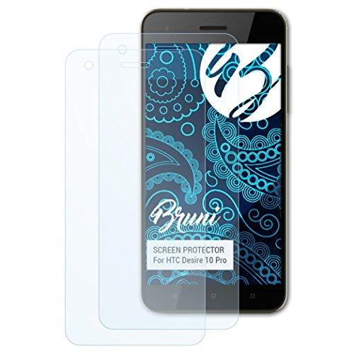 Bruni Schutzfolie kompatibel mit HTC Desire 10 Pro Folie, glasklare Displayschutzfolie (2X) Htc Touch Pro Smartphone