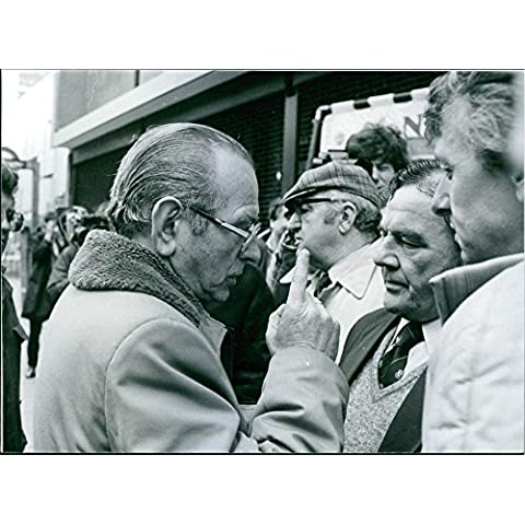Vintage Foto Di Britannico sindacalista, amlyn Williams