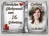 Tortenaufleger Fototorte Tortenbild zum Geburtstag DIN A5 G29