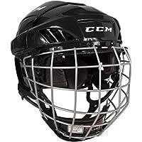 CCM Fitlite 40 Helm Combo Senior, Größe:L;Farbe:schwarz